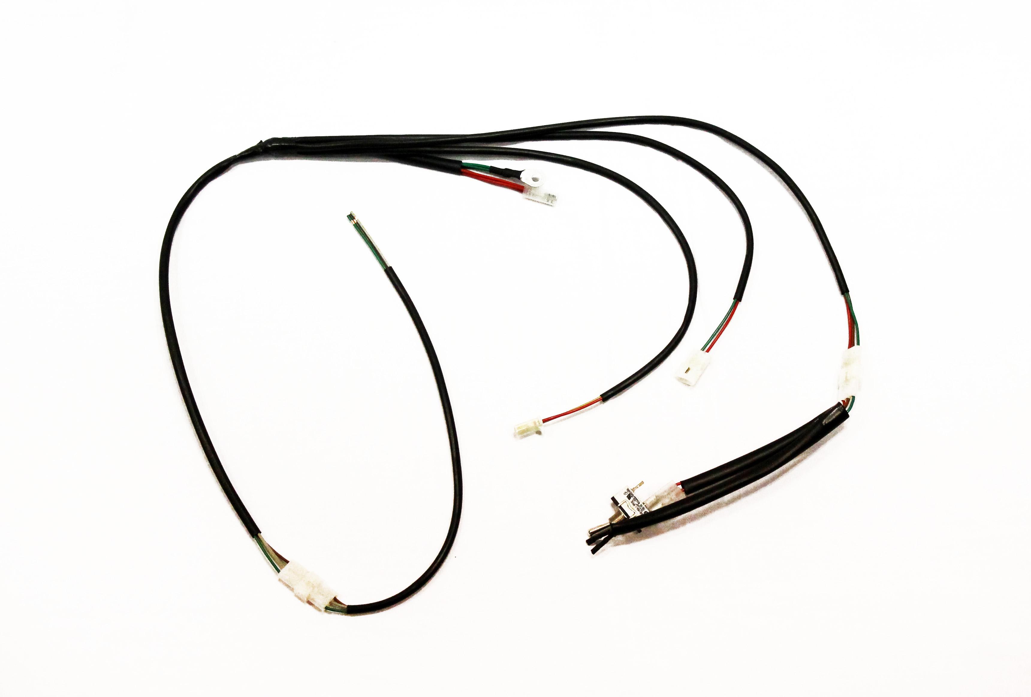 Schema Elettrico Hm : Honda enduro crf impianto elettrico semplificato jollyracing store